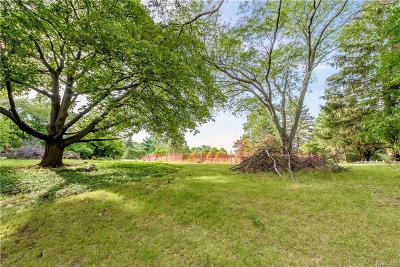 Bloomfield Hills Residential Lots & Land For Sale: 581 Bennington Drive