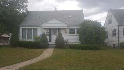 Garden City, Westland, Plymouth Twp, Canton Twp Single Family Home For Sale: 32326 Rosslyn Avenue