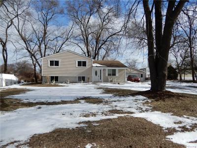 Single Family Home For Sale: 34440 Schoenherr Road