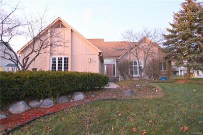 West Bloomfield Twp Single Family Home For Sale: 5538 Silver Pond