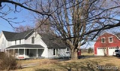 Brandon Twp Single Family Home For Sale: 2541 Oakwood Road