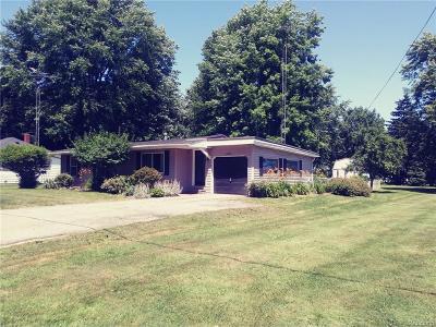 Port Sanilac Vlg MI Single Family Home For Sale: $115,900