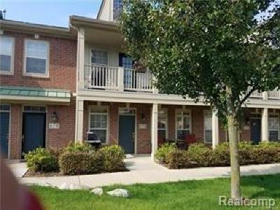 Walled Lake Condo/Townhouse For Sale: 476 Village Drive