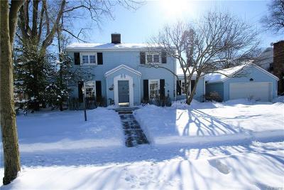 Birmingham MI Single Family Home For Sale: $459,900