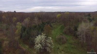 Addison Twp Residential Lots & Land For Sale: Oakwood Road