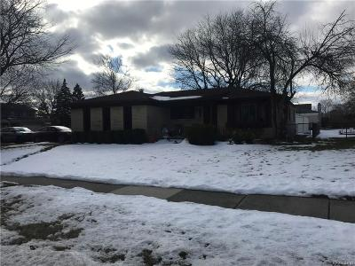 Sterling Heights Single Family Home For Sale: 39643 Forbes Drive