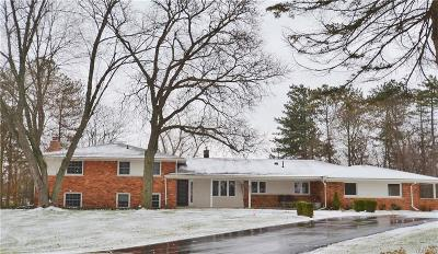 Bloomfield Twp Single Family Home For Sale: 3045 S Westview Court