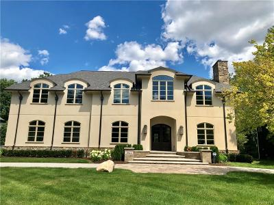 Birmingham MI Single Family Home For Sale: $2,999,000