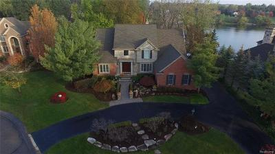 Northville Single Family Home For Sale: 18551 Fox Hollow Court