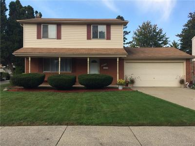 Sterling Heights MI Single Family Home For Sale: $175,000