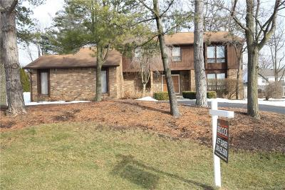 West Bloomfield Twp Single Family Home For Sale: 5347 Hauser Way