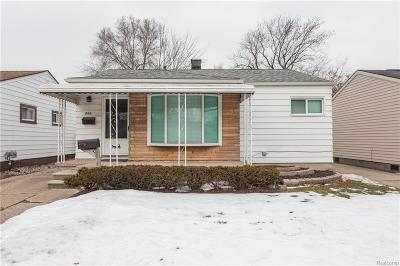 Oakland County Single Family Home For Sale: 849 E Barrett Avenue