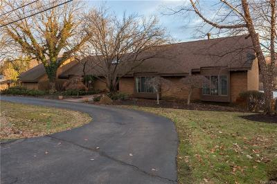 West Bloomfield Twp Single Family Home For Sale: 2282 Shore Hill Drive