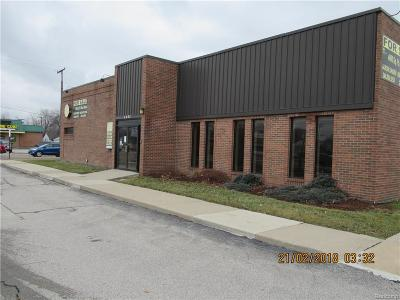 Lincoln Park MI Commercial Lease For Lease: $2,800