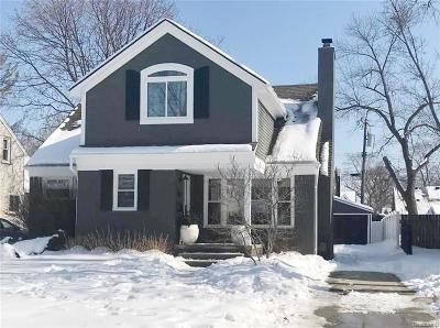 Birmingham MI Single Family Home For Sale: $549,000