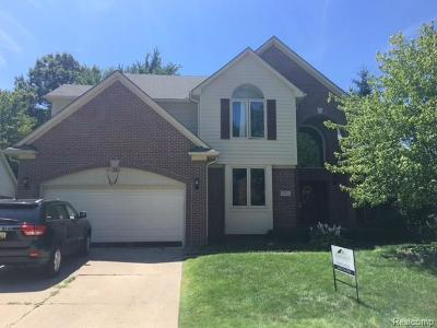 Rochester Hills Single Family Home For Sale: 751 Lake Ridge Road