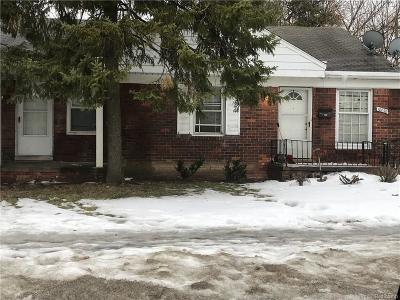 Detroit Single Family Home For Sale: 18838 Moross Road