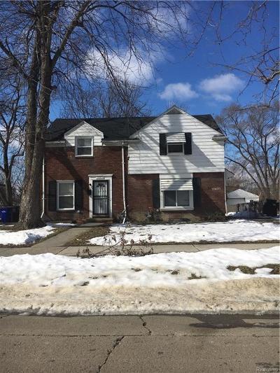 Detroit Multi Family Home For Sale: 10829 Nottingham Road