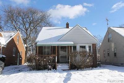 Detroit Single Family Home For Sale: 7770 Rosemont Avenue