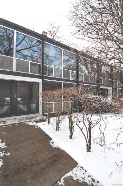 Detroit Condo/Townhouse For Sale: 1315 Joliet Pl