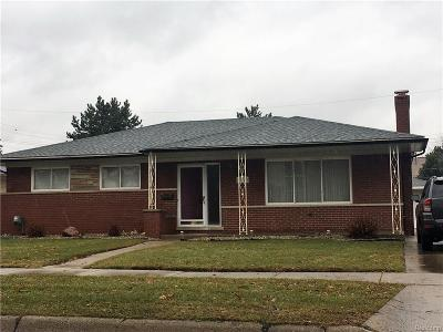 Warren Single Family Home For Sale: 4143 McKinley Avenue