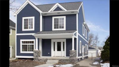 Royal Oak, Royal Oak Twp Single Family Home For Sale: 1311 Hoffman Avenue