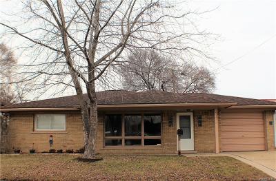 Royal Oak, Royal Oak Twp Single Family Home For Sale: 2321 Middlesex Avenue
