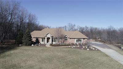 Highland Twp MI Single Family Home For Sale: $724,900