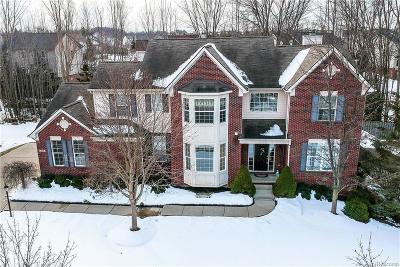 South Lyon Single Family Home For Sale: 1338 Coach House Lane