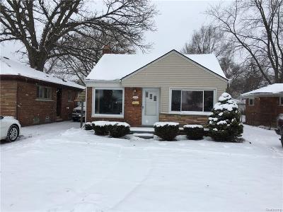 Eastpointe Single Family Home For Sale: 16545 Sprenger Avenue