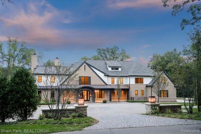 Bloomfield Hills MI Single Family Home For Sale: $5,800,000