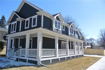 Royal Oak, Royal Oak Twp Single Family Home For Sale: 402 E Sunnybrook Drive