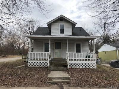 Ypsilanti Single Family Home For Sale: 482 First Ave