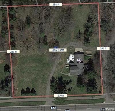Rochester, Rochester Hills Residential Lots & Land For Sale: 1608 Walton Boulevard