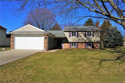 Orion Twp MI Single Family Home For Sale: $245,000