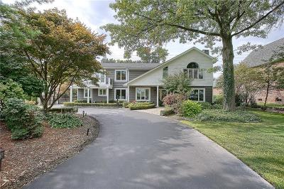 West Bloomfield Twp Single Family Home For Sale: 3668 Orchard Lake Road