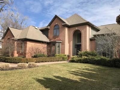 Birmingham MI Single Family Home For Sale: $1,200,000