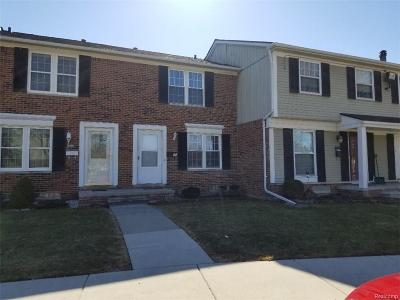 Sterling Heights Condo/Townhouse For Sale: 36806 Park Place Drive