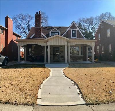 Dearborn Single Family Home For Sale: 6850 Oakman Boulevard