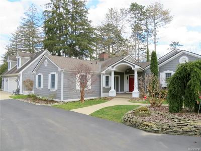 Grosse Ile Twp Single Family Home For Sale: 21557 Colonial Court