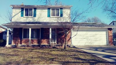 Taylor MI Single Family Home For Sale: $142,900