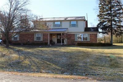 Single Family Home For Sale: 38289 Southfarm Lane
