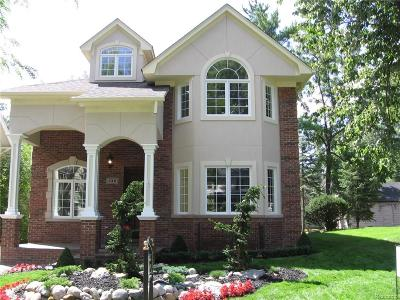 Birmingham MI Single Family Home For Sale: $934,000