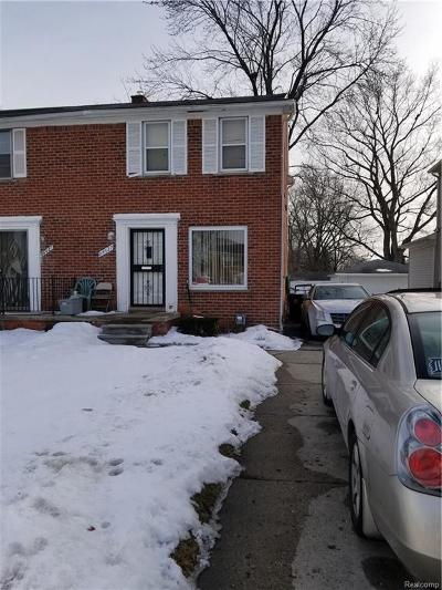 Redford Twp Single Family Home For Sale: 24627 W Chicago