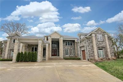 West Bloomfield Twp Single Family Home For Sale: 5320 Middlebelt Road