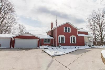 Livingston County Single Family Home For Sale: 4316 Crooked Lake Road
