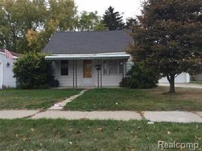 Dearborn Heights Single Family Home For Sale: 6130 N Gulley Road