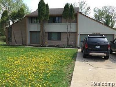 Farmington, Farmington Hills Single Family Home For Sale: 28057 W Eleven Mile Road
