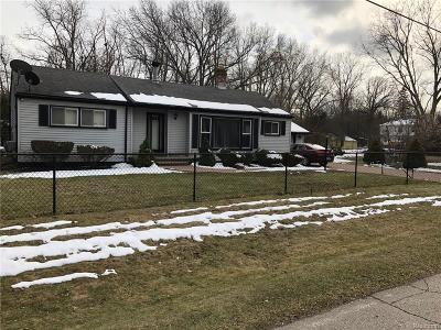 Southfield Single Family Home For Sale: 24291 Sargent Avenue
