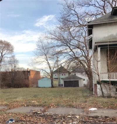 Detroit Residential Lots & Land For Sale: 2655 Nebraska Street